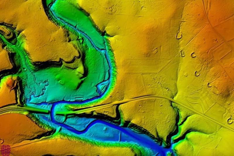 Database Immagini - rilievi LIDAR 3D
