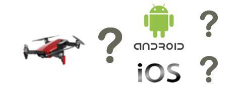 App droni iOS o Android