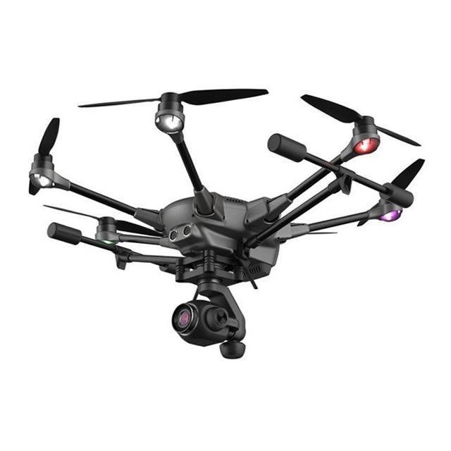 Yuneec Typhoon H Plus Drone Professionale Ala Rotante