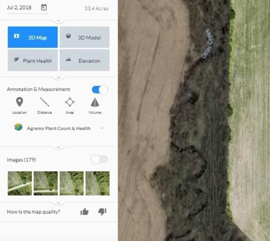 Dronedeploy Post Elaborazione